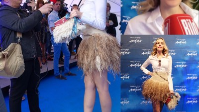 Galia Brener at the Cirque du Soleil – Amaluna premiere
