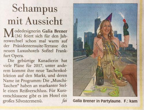 Frankfurter Neue Presse – Silvester 2016/17- Galia Brener