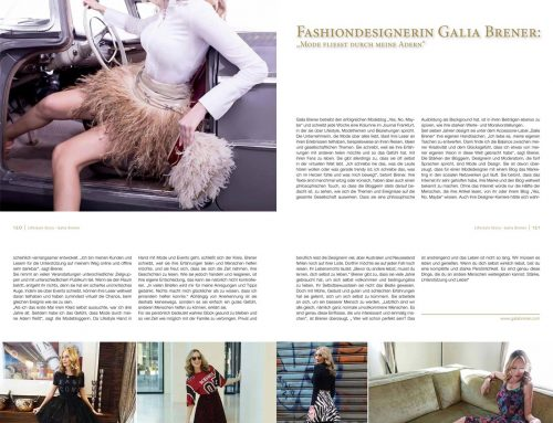 Interview with Galia in the PIXX magazine – March 2017