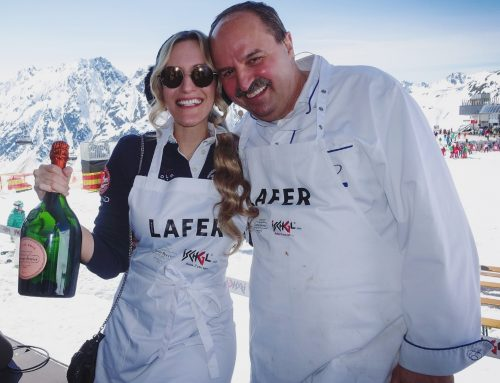 Johann Lafer and Galia Brener in Ischgl