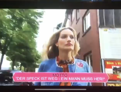 "TV Show: ""3 Boxen Dein Style"" on RTL2 with Galia Brener"